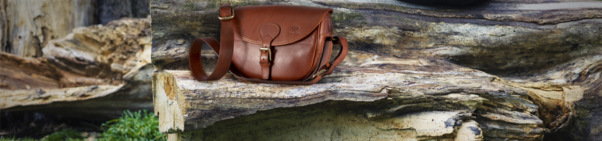 Hunting leather bags